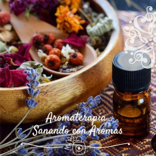 Aromaterapia, Sanando con aromas