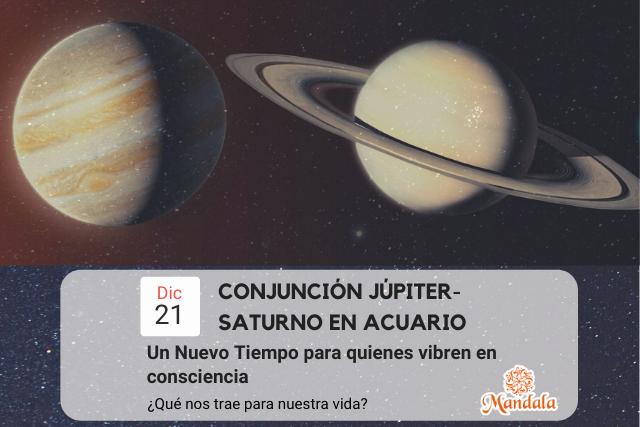 Un Nuevo Tiempo para quienes vibren en consciencia – Conjunción Júpiter Saturno en Acuario